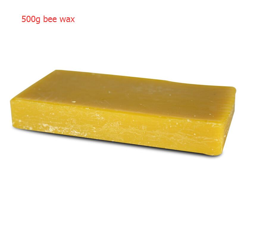 500g beewax Annatto ebony Wood floor polishing wax Furniture wood maintenance wax(China (Mainland))