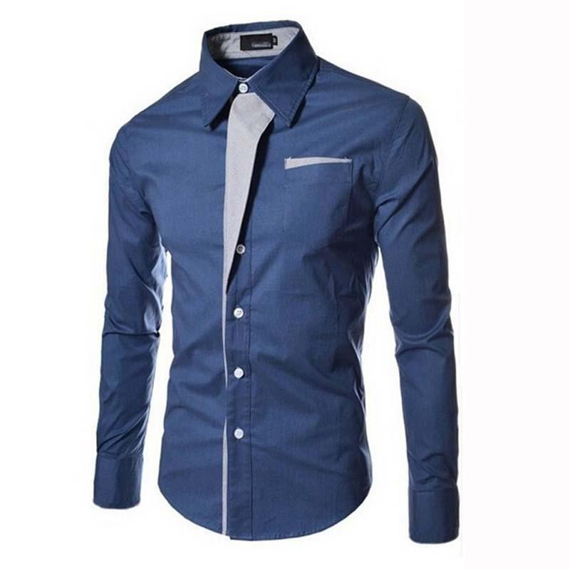 Tungstennix — Рубашка с воротником стойкой Semco. c4afa1017aa40