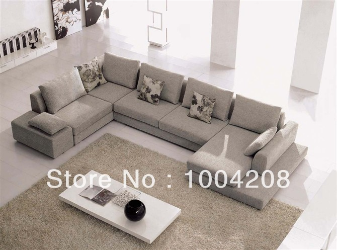 Modern style corner sofa fabric sofa living room furniture f832 in living roo - Canape en forme de u ...