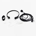 High Quality Throat Control Mic Earpiece Headset Wired Intercom Headphone Vibration Sensors PTT for Baofeng TK