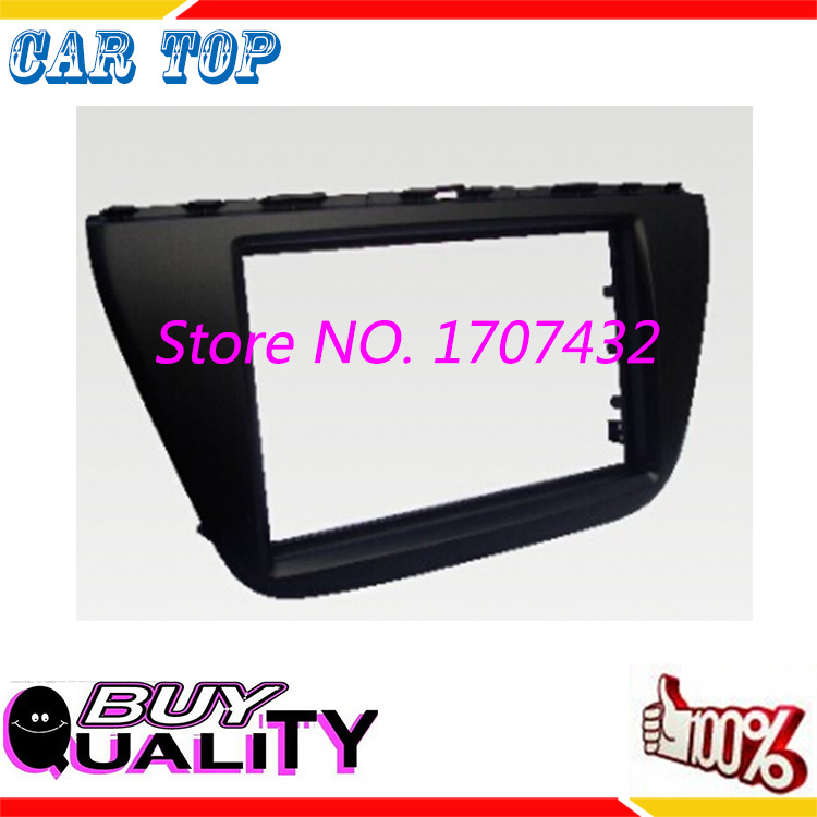 free ship 2Din Fascia SUZUK SX4 S CROSS 2014 Radio DVD Stereo Panel Dash Mounting Installation Trim Kit Frame  -  Guangzhou Car Top Auto Parts Co., Ltd. store
