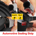 2M Car Door Seal Strip Rubber Big D Small D Z P Type Waterproof Trim Sound