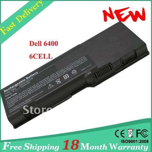 Laptop battery for Dell Inspiron 6400 11.1V 5200mAh +Free Shipping+18 months Warranty(China (Mainland))
