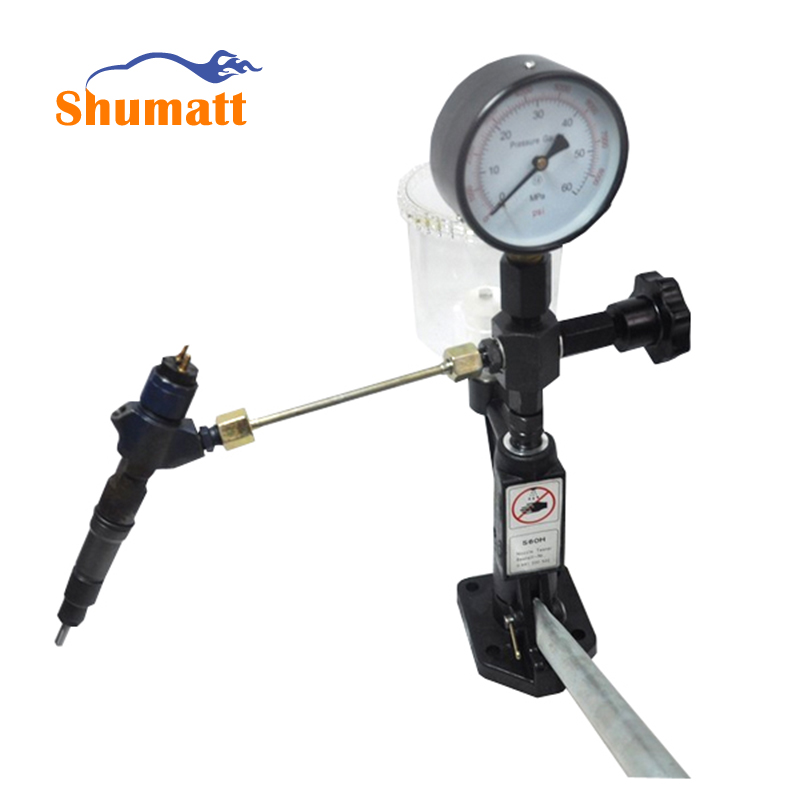 Top quality Common rail injector tester Diesel Injector Nozzle Tester / Pop Pressure Tester - Dual Scale BAR / PSI Gauge CRT012(China (Mainland))