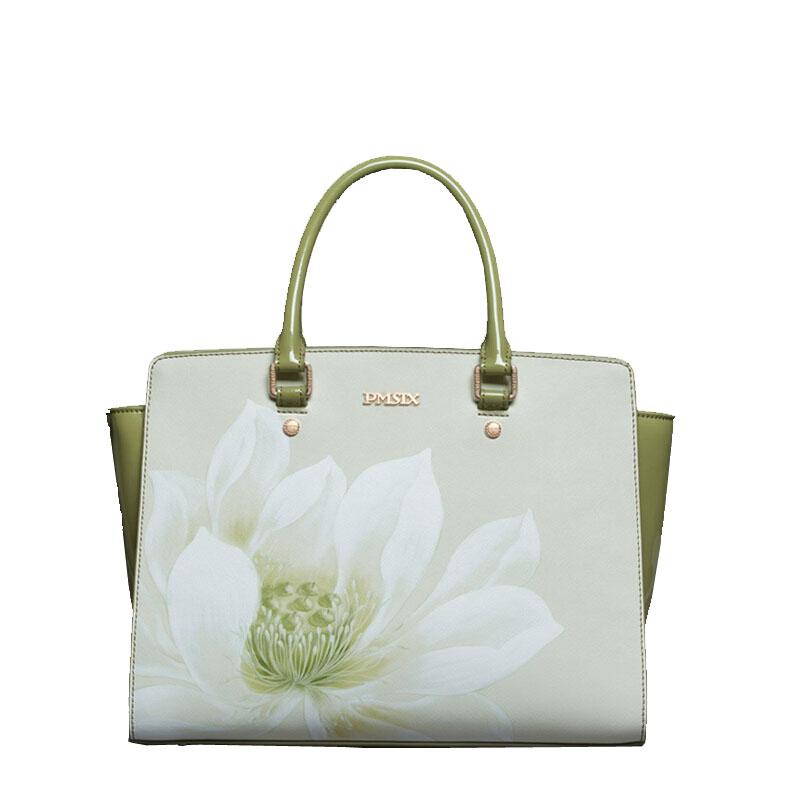 Famous brand top quality dermis women bag  2015 new handbag retro lotus printing Shoulder Messenger Bag Wings bag<br><br>Aliexpress