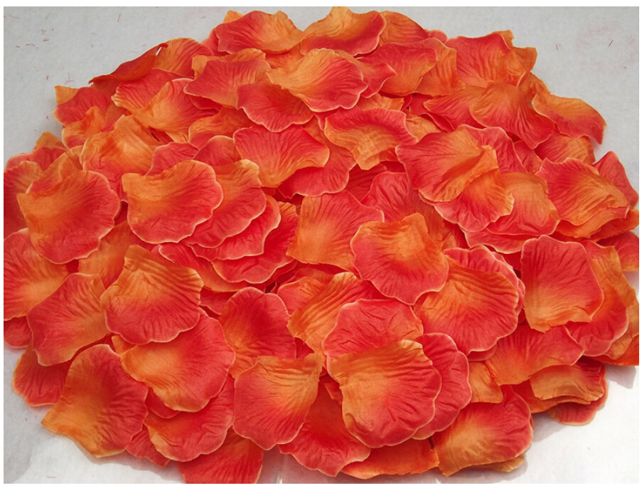Artificial Silk Rose Petal Wedding Flower Decoration 1000pcslot Good Quality 52 colors petala party Home Decotation - WUYANG FOREIGN CO.,LTD store