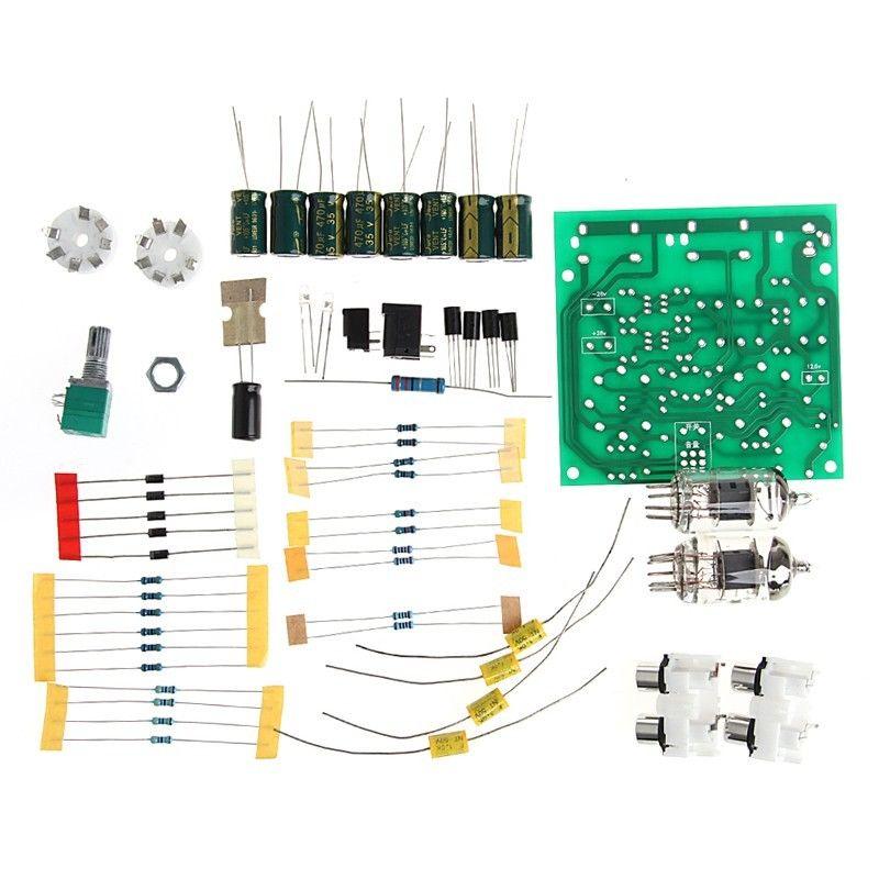 Drop shipping Tube 6J1 Preamp Board Module Preamplifier Kit DIY