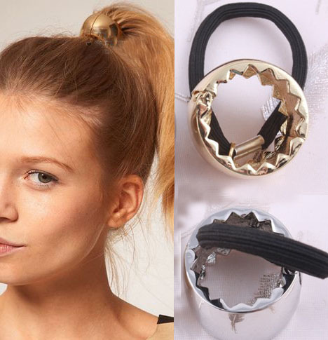 Fashion Metal Hair Bands Gold Plated & Silver Plated Headbands for women FF2013063(China (Mainland))