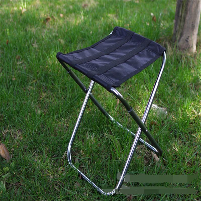 Гаджет  DHL Freeshipping 100pcs Portable folding fishing chair aluminum alloy beach chairs None Мебель