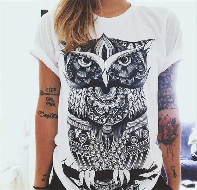 New European Style Summer T shirt Women 2017 Hamsa Hand 3D Print T-shirt Fashion Graphic Tees Women Designer Clothing