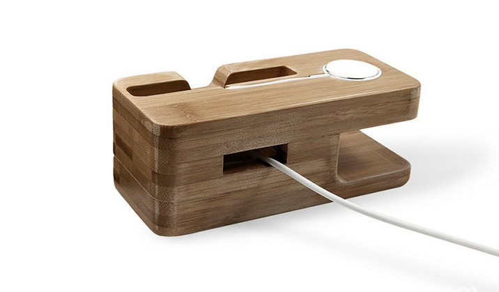 iwatch charging dock iphone holder