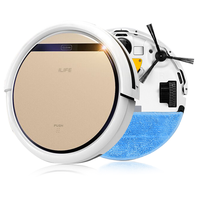 ILIFE 2 in 1 Smart Robot Vacuum Cleaner V5S Wet and Dry Clean MOP Water Tank HEPA Filter,Ciff Sensor,Self Charge ROBOT ASPIRADOR(China (Mainland))