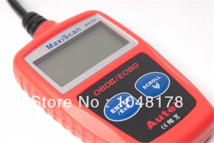 Wholesale Universal models MS309 OBD2 Code Reader car PC Automotive Scanner Diagnostic Tools iobd2(China (Mainland))