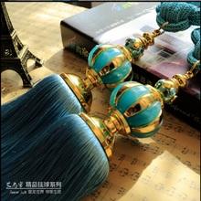 Curtain hanging ball bandage ball pendant hanging tassel strap decoration curtain accessories holder hanging ball #20(China (Mainland))