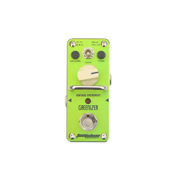 New AROMA AGR-3 GREENIZER Vintage Overdrive Mini Analogue Effect True Bypass<br><br>Aliexpress