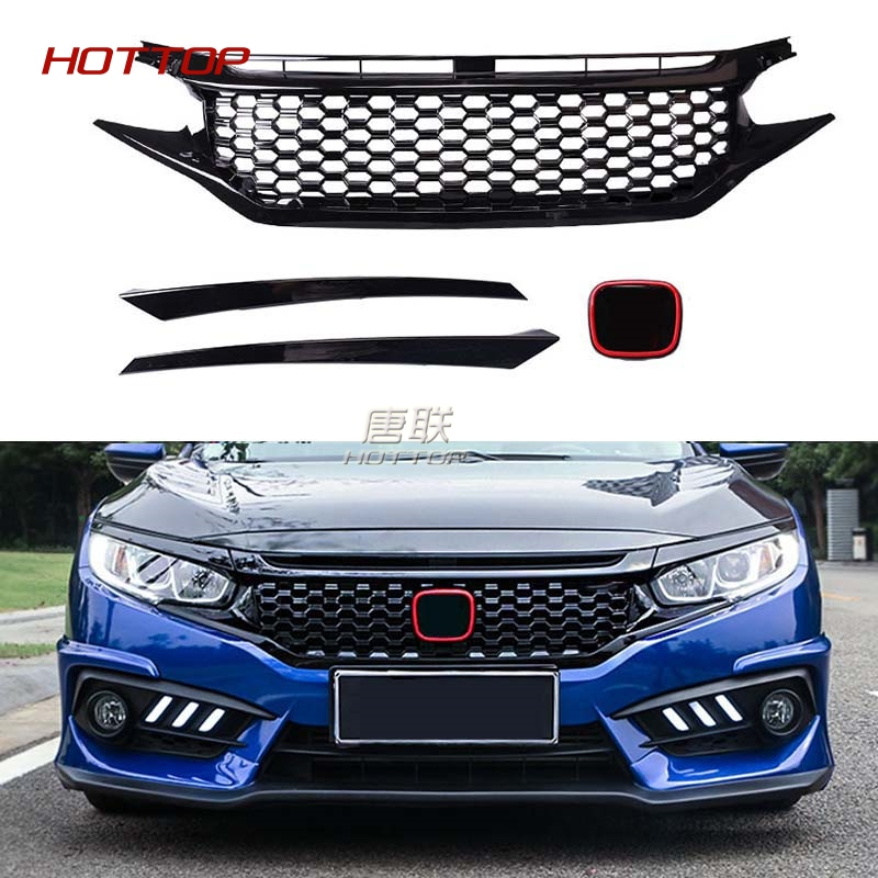 compare prices on grille honda civic online shopping buy low price grille honda civic at. Black Bedroom Furniture Sets. Home Design Ideas
