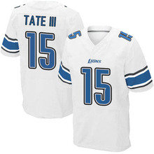 Men's #15 Golden Tate III Elite White Football Jersey 100% stitched(China (Mainland))