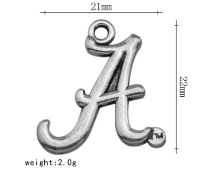 10pcs/lot NFL Alabama NCAA college sports logo accessories Charm For Anklet jewelry pendant Making Wholesale(China (Mainland))