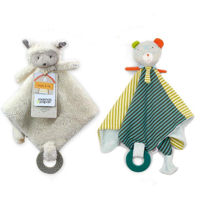 Новорожденный Blankie детских игрушек младенческой успокоить полотенце новорожденный ...