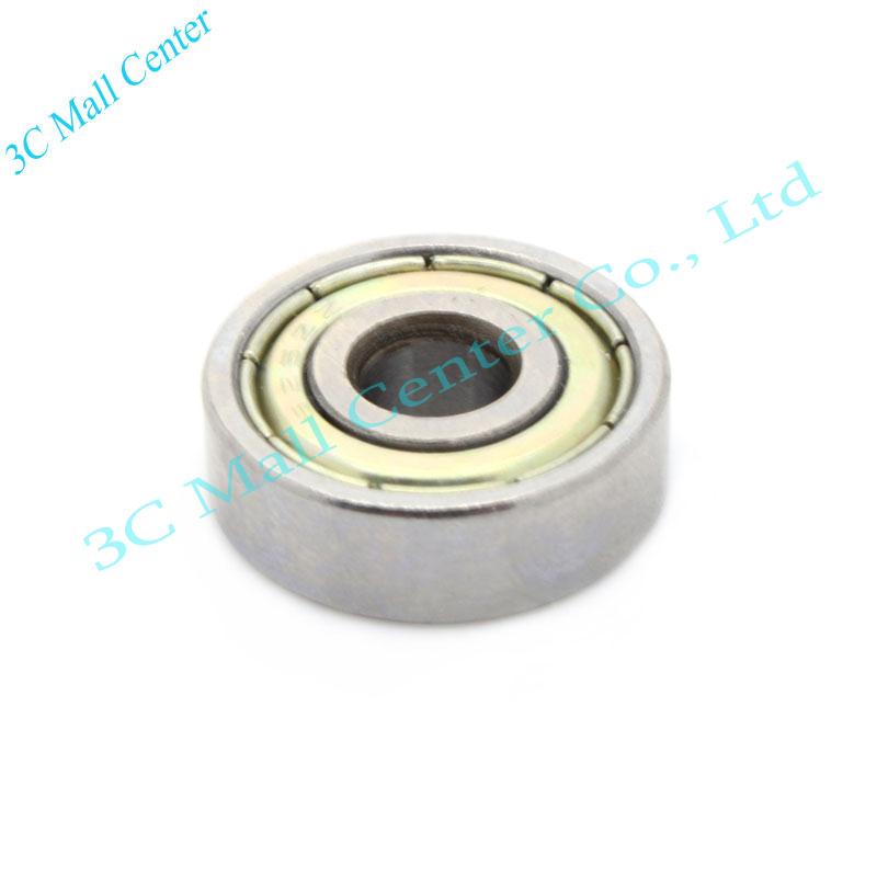 10 pcs lot 608ZZ 8X22X7 3D printer Miniature Radial Bearings Free Shipping