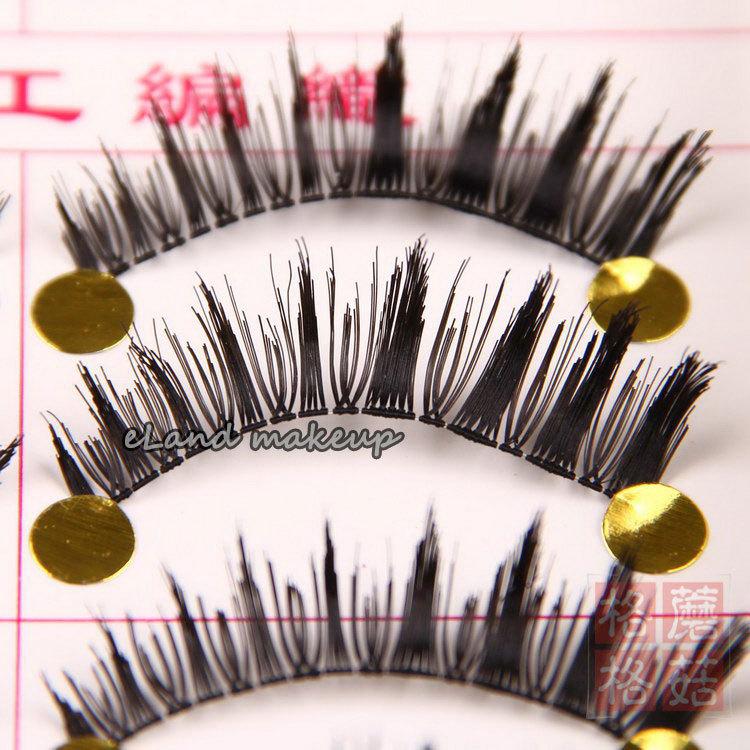 10 Pairs Ultra Thick Natural Handmade Crisscross False Eyelashes Artificial Fake Eyelash Eye Lashes Makeup D2 - Eland CO.,LTD store