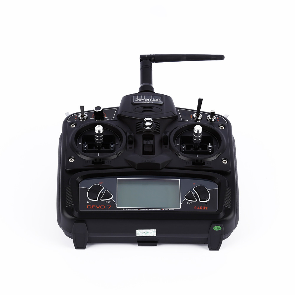 RC FPV Remote controller Walkera Devo 7 Transmitter 7CH DSSS 2.4G Transmitter Without Receiver For Walkera Helis Helicopter