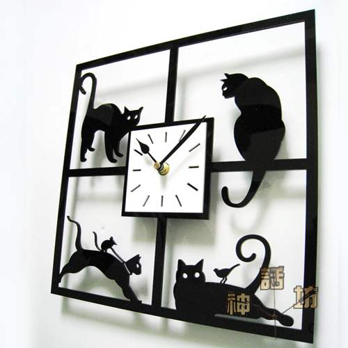 Canvas Wall Clock Design : Replacement electronic diy wall clock mechanism design