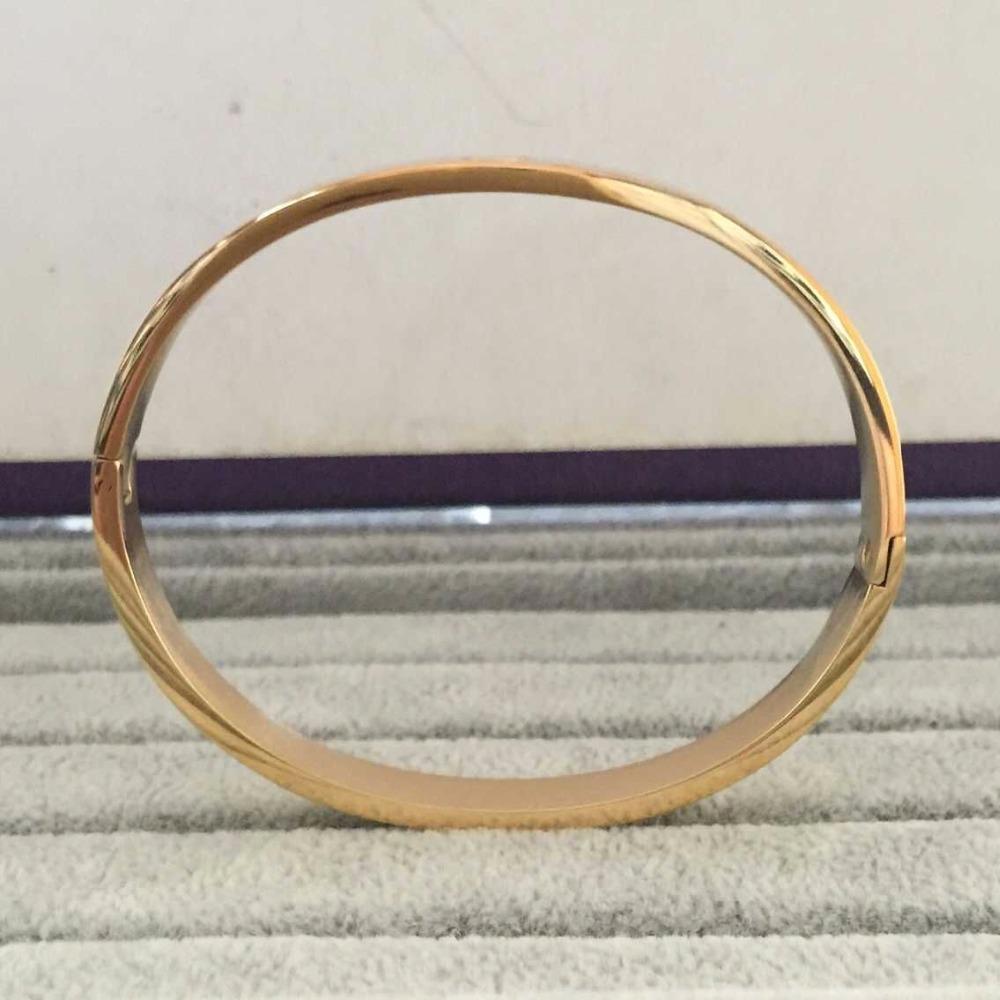 Pulseiras Femininas 16cm/19cm Love Bracelet Femme For Women Men Wristband 18k yellow Rose / white / Gold Bangle & Bracelet(China (Mainland))
