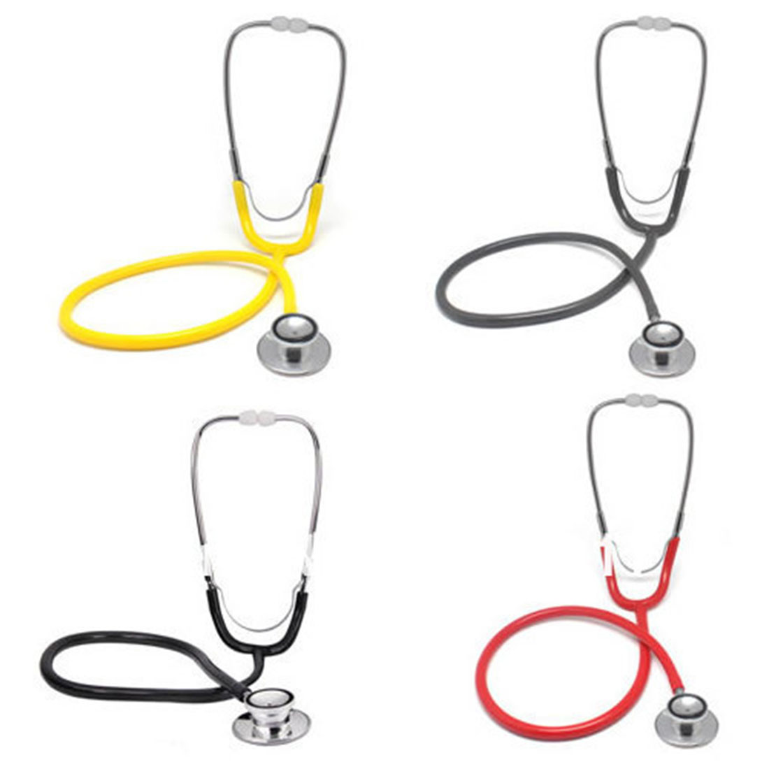 Random Color Dual Head EMT Stethoscope For Doctor Nurse Vet Medical Student