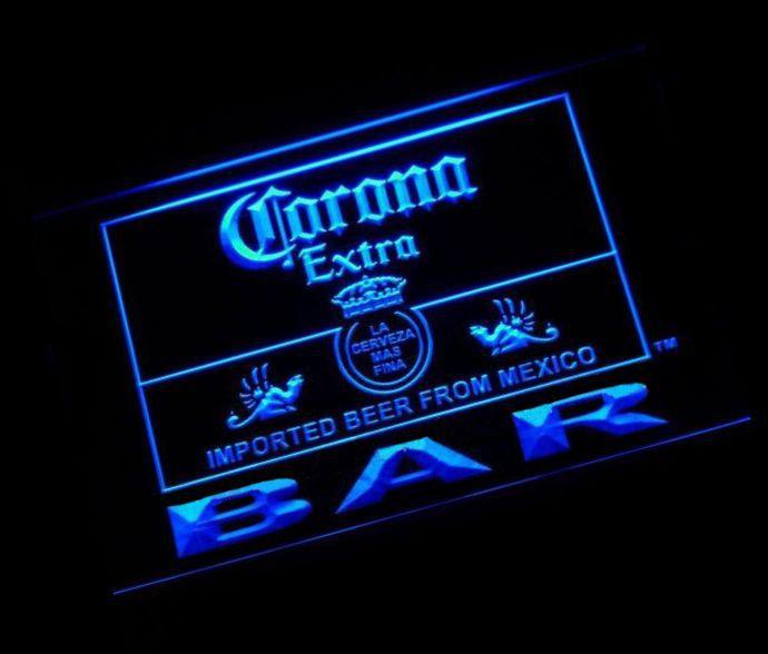 jb-56 Corona Bar Beer Extra LED Neon Light Sign(China (Mainland))