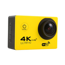 Buy F60R Yellow 4K Action Camera Sport Camcorder 30FPS Wifi Ultra HD 16MP 30M Waterproof 170D Mini Go Helmet Pro yi 4k Deportiva for $39.08 in AliExpress store
