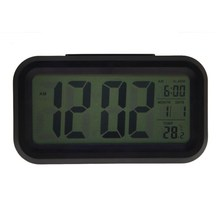 Digital Snooze Electronic Alarm Clock Despertador Watches with LED Backlight Light Calendar Control PTSP