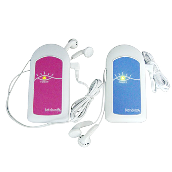 Фотография low power pocket fetal doppler integrated design for probe and host double headphone jacks ultrasound probe Baby Sound A