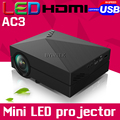 2016 GM60 AC3New Home Theater HDgM60 portable Video LCD Digital HDMI Cinema USB 1000lumens mini LED