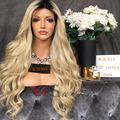 8A Grade 200 High Density Human Hair Wigs Ombre 1b 613 Full Lace Human Hair Wigs