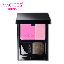 batom maquiagem cosmetics makeup beauty of charming double blush sweet stereo with Rouge bronzing powder sweet stereo
