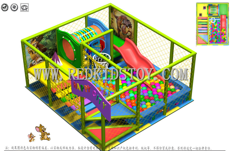 Safety soft indoor playground for toddler ce approved kids for Best indoor playground for toddlers