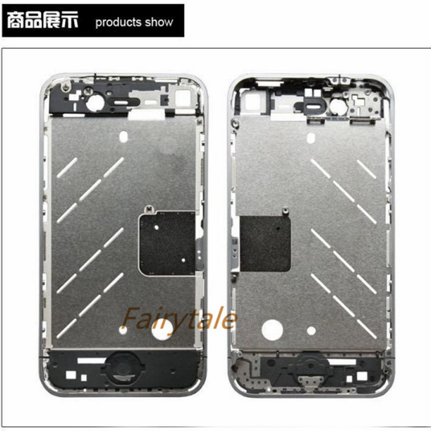 10pcs/Lot For iPhone 4g Complete middle board Repair Spare Parts Replacement(China (Mainland))