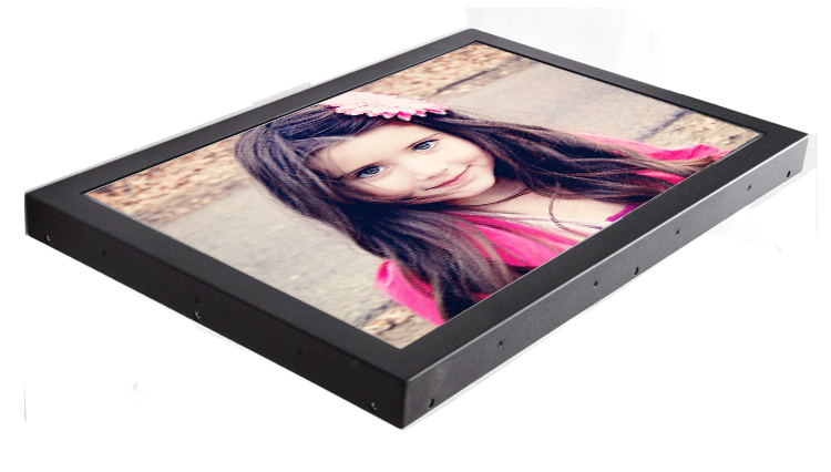 "Open Frame 24"" inch Wide LED Full HD 1080p SAW TouchScreen Monitor Metal Black Casing(China (Mainland))"