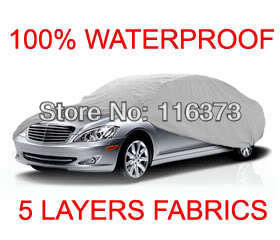 5 Layer Car Cover Outdoor Water Proof Indoor Fit FORD MUSTANG COBRA COUPE 2001 2002 2003 2004 - Online Store 116373 store