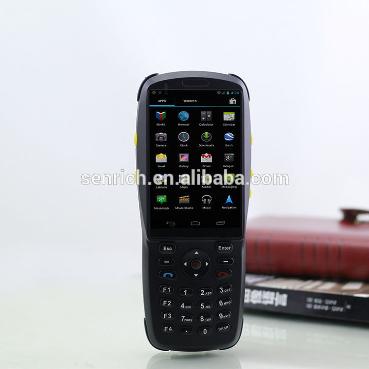 Good Stability Android PDA with Barcode Scanner,Camera,WIFI,Bluetooth,GPS,GPRS,2G/3G,NFC/RFID(China (Mainland))
