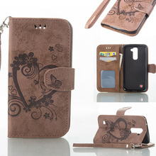Buy PU Leather Flip Phone Case Cover LG K10 LTE K430 M2 F670 Q10 K410 K430DS K420N F670L F670S F670K F6700 5.3 inch Wallet Case for $3.56 in AliExpress store