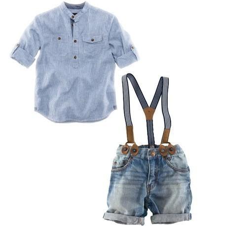 Retail one set 2015 summer children clothing sets boys shirt+denim overalls handsome 2pcs boy sets branded kids wears(China (Mainland))