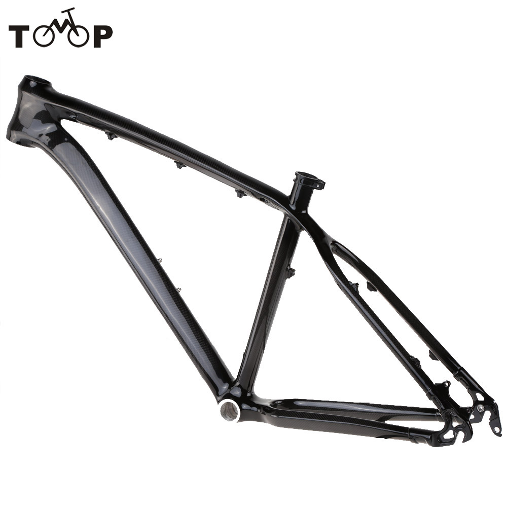 """17"""" Full Carbon Fiber MTB Mountain Bike Frame Outdoor Road Bike Bicycle Carbon Frame for 26"""" Wheels Bicycle Telaio Carbonio(China (Mainland))"""