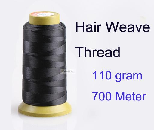 1 шт. 700 м 110 г волос ткать нить для плетения иглы бразильских индийских волос ...