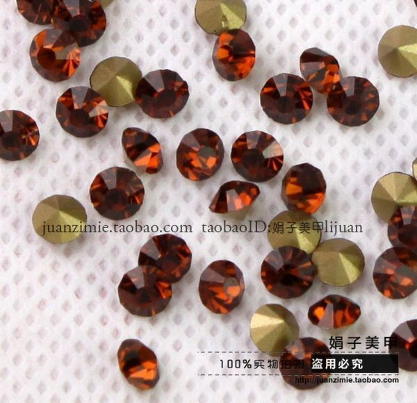 Tawers pointed bottom drilling rhinestone pasted diy accessories measurement