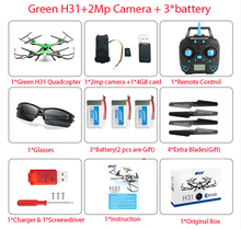 JJRC H31 Waterproof FPV Quadcopter RC Drone with WiFi Camera Or 2MP Camera Or NO Camera Headless Mode RC Helicopter Vs X5HW H8(China)