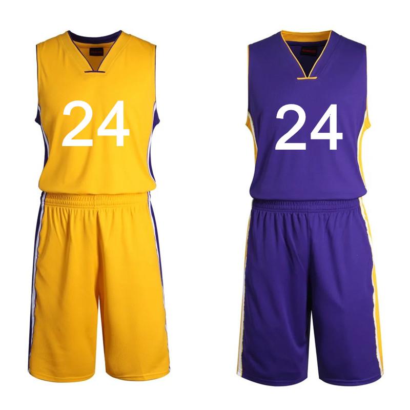 gdvivr Los Angeles Lakers 24# Kobe Bryant white Silvery white number
