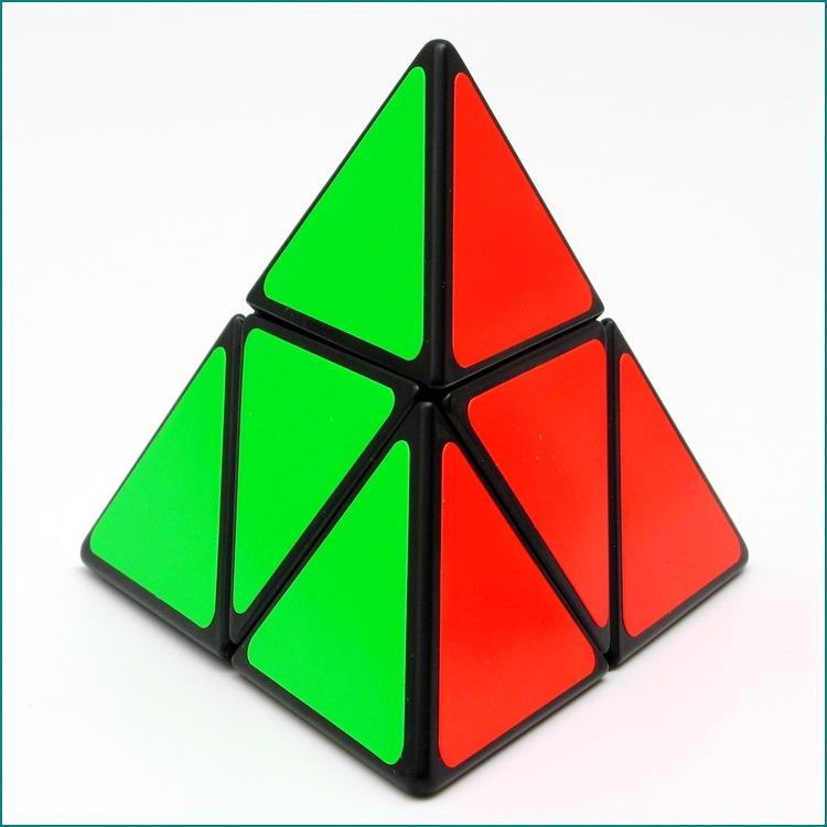 SSXZ shengshou Pyraminx Magic cube puzzle Cube Action figures learning & education toys The second order cube Baby besy toys(China (Mainland))