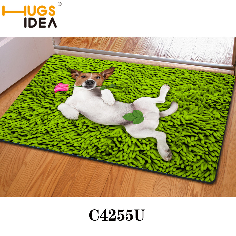 Kitchen floor mats designer - Green Sexy Dog Funny Design Bath Mats Thin Kitchen Carpets Yellow Purple Bathroom Carpet Rugs And